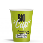 BIO Cup Green PE 180cc 7,5oz