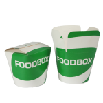 Take away box vouwsluiting 16oz 400ml