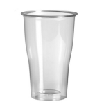 Groot Bierglas / Smoothie glas PET 400 | 800st​